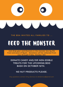 Feed the Monster (Boo Bash donations)