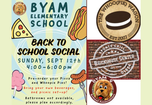 Byam Elementary School Back-to-School Social